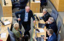 Opozicija nori, kad sunaikinto įrašo istoriją aiškintųsi Seimo NSGK