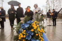 Bus uždegtos atminimo žvakutės už Holodomoro aukas