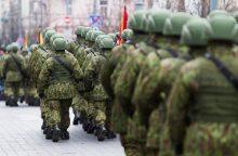 Prieš kariuomenės šimtmečio minėjimą – eismo ribojimai Vilniuje