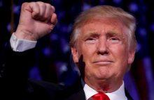 Per D. Trumpo palaikymo mitingą Pietų Kalifornijoje kilo muštynės
