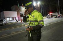 Per teroristų ataką Kolumbijos policijos akademijoje žuvo 21 žmogus