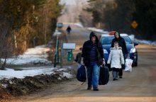 Savivaldybėms pabėgėlių per prievartą nesiūlys