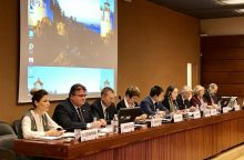 Ragina tęsti spaudimą Rusijai dėl žmogaus teisių pažeidimų Kryme