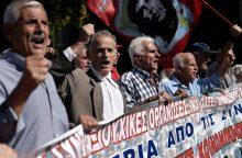 Pensijų graikams kitąmet nebekarpys