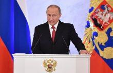 Lietuva užrūstino V. Putiną, nusprendusi neįsileisti Rusijos teisėjų