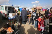 Karą kenčiančiame Mosule yra įstrigę apie 350 tūkst. vaikų
