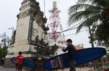 Balį supurtęs žemės drebėjimas išgąsdino turistus