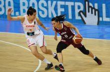 Latvijoje vyks Europos moterų krepšinio čempionato atkrintamosios varžybos