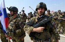 Lietuvos ginkluotės inspektoriai tikrins dalinius Serbijoje