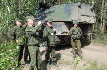 Baltarusijos ginkluotės inspektoriai tikrins Lietuvos karinį dalinį