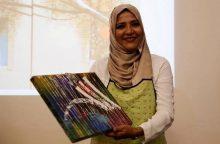 Kaligrafė S. Rasool: menas – tai tiltas, jungiantis skirtingas kultūras