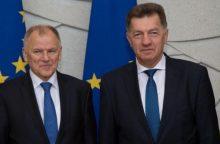 Premjeras su EK komisaru kalbėjo apie investicijų svarbą