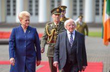 Airijos prezidentas taps VDU garbės daktaru