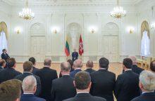 D. Grybauskaitė: Vakarams tenka atremti užslėptą hibridinę agresiją