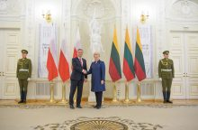 Prezidentūra: Lietuva turi naudotis gerėjančiais santykiais su Lenkija