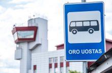 88–ojo ir 88–ojo N maršrutų autobusai vėl užsuks į Vilniaus oro uostą