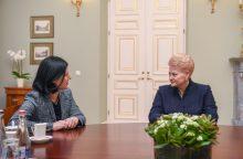 D. Grybauskaitė: Lietuva ir ES stato užkardas kišimuisi į rinkimus
