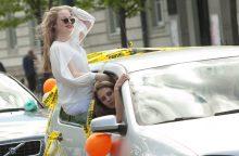 Lietuvos abiturientai atsisveikina su mokykla