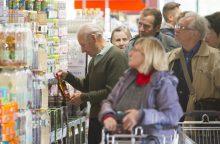 Apklausa: ar lietuviai pirks pabrangusį alkoholį?
