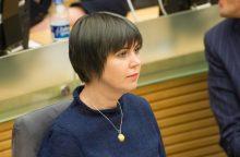 D. Šakalienė nebedirbs Savižudybių ir smurto prevencijos komisijoje