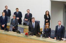 Ekspertų žvilgsnis: įvardijo geriausius ir blogiausius ministrus