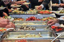Kas restoranams ir kavinėms kelia didžiausią riziką?