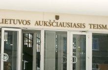 Aukščiausiasis Teismas paliko galioti nuosprendį neįgaliųjų įdarbinimo byloje