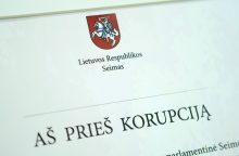 Seime – bandymas skubos tvarka priimti įstatymą dėl pranešėjų apsaugos
