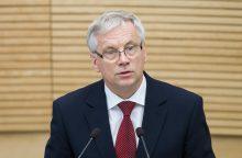Krizę slėpęs finansų ministras: nesu finansų ekspertas