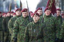 Savanorių pajėgų įkūrimo metinių proga – diena su uniforma