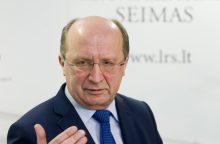 Seime – netikėtas A. Kubiliaus pasiūlymas dėl LRT