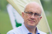 S. Jakeliūnas: tarp pirmųjų darbų – 40 eurų padidinti pensijas