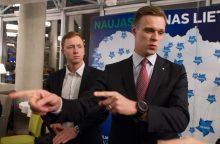 Konservatorių pirmininkas nusiteikęs keisti dalį partijos vadovybės