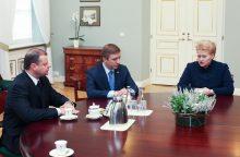 Įtakingiausi politikai – D. Grybauskaitė, S. Skvernelis ir R. Karbauskis