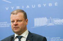Premjeras rengia pasitarimą dėl mokesčių pertvarkos