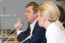 R. Karbauskis apie santykius su G. Kildišiene: jokio romano nėra