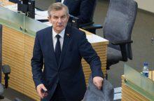 Seimo pirmininkas kviečiasi pokalbio VTEK vadovą dėl G. Kildišienės