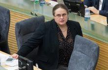 A. Širinskienės vadovaujama komisija prašo medžiagos iš VSD ir STT