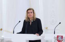 Ministrė: G. Kėvišas tapo Lietuvos, iš kurios bėga žmonės, simboliu