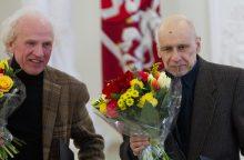 Trims nacionalinės premijos laureatams žadamos valstybinės pensijos
