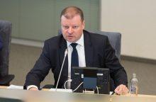 S. Skvernelis išvyksta į Moldovą