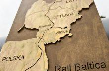"""Kaip sekasi įgyvendinti geležinkelio vėžės projektą """"Rail Baltica""""?"""