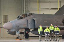 NATO naikintuvai lydėti Rusijos karinių orlaivių nekilo kelias savaites