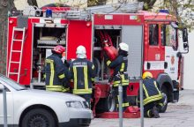 Šilutiškiui užsirūkius automobilyje nugriaudėjo sprogimas