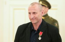Rašytojui S. Parulskiui įteikta L. Dovydėno premija