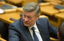 Seimo komitetas aiškinosi gynybos atašė Rusijoje atšaukimo aplinkybes
