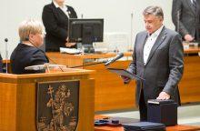 Keturi sostinės liberalai oficialiai perėjo į opoziciją