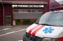 Ligoninių priimamuosius užplūdo traumas patyrę pėstieji