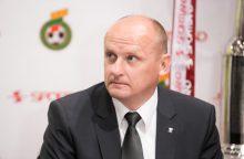 """Vilniaus """"Žalgiris"""" vyriausiojo trenerio vairą patikėjo V. Urbonui"""