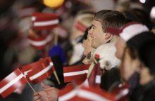 Latvija mini nepriklausomybės paskelbimo 100-ąsias metines